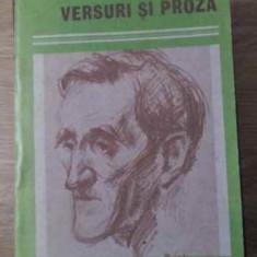 Versuri Si Proza - George Bacovia, 392517 - Roman