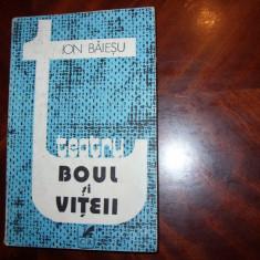 ION BAIESU - BOUL SI VITEII. ZECE COMEDII ( carte rara ) *