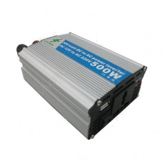 Invertor de 24V -220V cu putere 500W