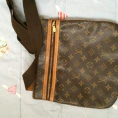 Geanta Louis Vuitton originala - Geanta Barbati Louis Vuitton, Marime: One size, Culoare: Maro