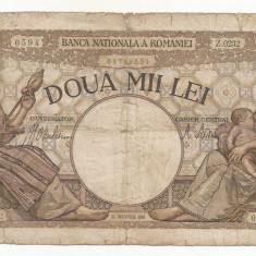 ROMANIA 2000 2.000 LEI 18 Noiembrie 1941 [29] starea din imagine - Bancnota romaneasca