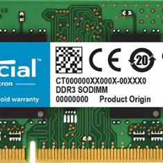 Memorii Laptop SODIMM 8GB DDR3 PC3L-14900 1866Mhz 1.35V APPLE IMAC - Memorie RAM laptop Crucial