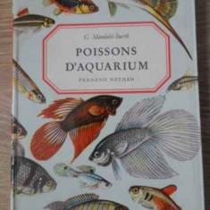 Poissons D'aquarium - G. Mandahl-barth, 392464 - Carti Agronomie