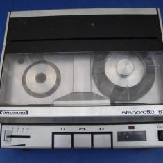 Mini magnetofon de colectie Grundig Stenorette SL
