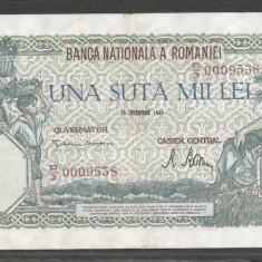 ROMANIA 100000 100.000 LEI 20 DECEMBRIE 1946 [6] XF++ - Bancnota romaneasca