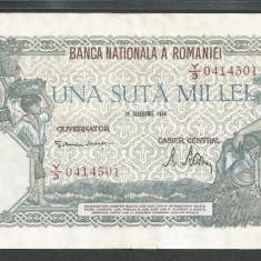 ROMANIA 100000 100.000 LEI 20 DECEMBRIE 1946 [10] XF+ - Bancnota romaneasca