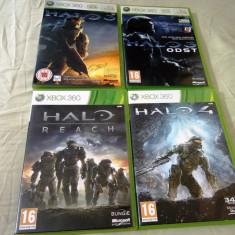 Pachet Halo(4 jocuri), XBOX360, original, alte sute de jocuri!, Actiune, 16+, Single player