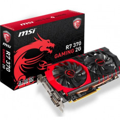 Placa video MSI AMD R7 370 GAMING 2G, R7 370, PCI-E, 2048MB GDDR5, 256 bit, 925/1050MHz, 5600/5700MHz, 2*DVI, HDMI, DP, FAN bulk