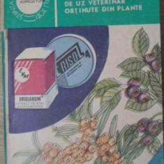 Noi Produse Romanesti De Uz Veterinar Obtinute Din Plante - Roman Morar, 392465 - Carti Agronomie