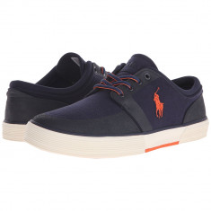 Tenisi RALPH LAUREN Faxon Low - Tenesi Polo Barbati - 100% AUTENTIC - Tenisi barbati Ralph Lauren, Marime: 41, 42, 42.5, Culoare: Din imagine, Textil