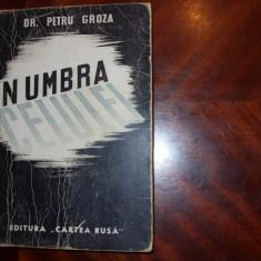 PETRU GROZA - IN UMBRA CELULEI ( 1945, Editura Cartea Rusa ) * - Carte veche