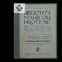 Biblioteca Marilor Procese Anul I martie 1924 nr 3 Procesul Amira