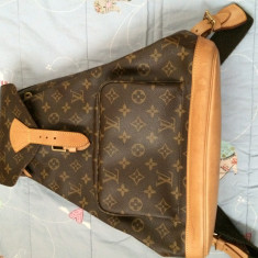 Rucsac Louis Vuitton original - Geanta Dama Louis Vuitton, Culoare: Maro, Marime: One size