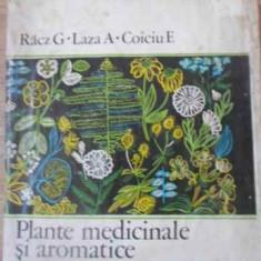 Plante Medicinale Si Aromatice (putin Uzata) - Racz G., Laza A., Coiciu E., 392296 - Carte Medicina alternativa
