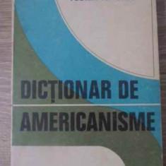 Dictionar De Americanisme - Florin Ionescu, 392549 - Carte in engleza