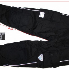 Pantaloni moto Motoline, Aerotex, Airdura, protectii, copii, marimea 152 cm - Imbracaminte moto