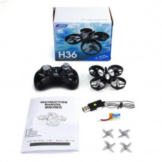 Drona JJRC mini H36 Nou la cutie.Cu LEd, Mentinere Altitudine 6 Axis Gyro.