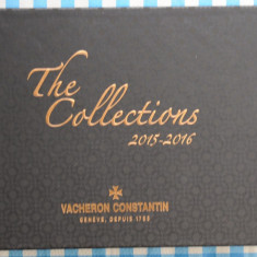 Catalog ceasuri Vacheron Constantin 2015 2016