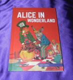 Alice in Tara Minunilor benzi desenate engleza classics illustrated (f0862