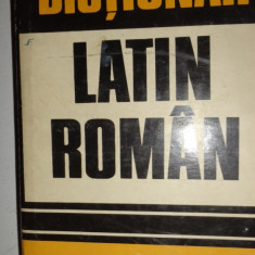 DICTIONAR LATIN - ROMAN AN 1973/620PAGINI= GH.GUTU