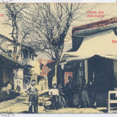 3751 - ADA-KALEH, Bazar - old postcard - used - 1903 - Carte Postala Oltenia 1904-1918, Circulata, Printata