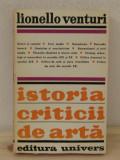 ISTORIA CRITICII DE ARTA-LIONELLO VENTURI