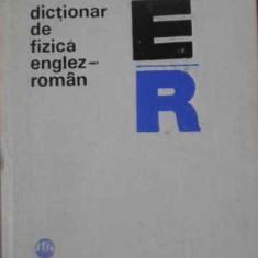 Dictionar De Fizica Englez-roman - Mariana Gavrilas Ludmila Andreescu, 392407 - Carte Fizica