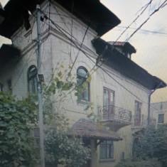 Vila cu doua apartamente, demisol, pod mansardabil si curte, ultracentral