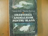 Cresterea animalelor pentru blana Bucuresti 1980 V. Sarbu nurca jder vulpe