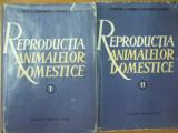 Reproductia animalelor domestice 2 volume Bucuresti 1964 N. Lunca P. Popescu