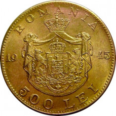 ROMANIA, 500 LEI 1945 * cod 13 - Moneda Romania