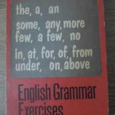 English Grammar Exercises - D.chitoran I.panovf I.poenaru, 392433 - Carte in engleza