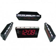 Ceas cu ecran LCD Sheep CR-8828P cu radio Fm - Ceas desteptator