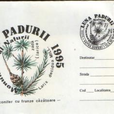 Romania - 1995-Plic oc.- Luna padurii Suceava - Laricele(zada)
