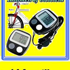 Kilometraj, computer bicicleta, vitezometru Impermeabil la apa - 14 functii - Accesoriu Bicicleta