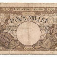 ROMANIA 2000 2.000 LEI 18 Noiembrie 1941 [25] starea din imagine - Bancnota romaneasca