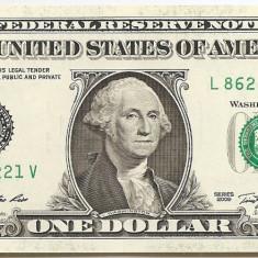 Statele Unite (SUA) 1 Dolar 2009 ( L - San Francisco CA ) 86225221 P-530 aUNC - bancnota america
