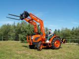 Tractor nou, 4x4 de 45CP si 49CP Kioti , incarcator frontal cu cupa, PilotOn