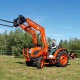 Tractor nou, 4x4 de 45CP si 49CP Kioti , incarcator frontal cu cupa