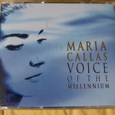 Callas - Voice of the millenium - Muzica Clasica emi records, CD