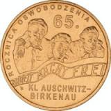 Polonia 2 zloty 2010 UNC Auswitz-Brikenau, Europa