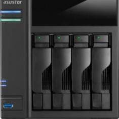 Asustor AS6104T NAS - network attached storage tower, 4-bay