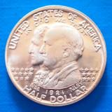 USA Half Dollar 1921 Alabama 30.5 mm, America de Nord