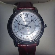 Ceas de mana, unisex, DE COLECTIE marca MAURICE LACROIX original, automatic - Ceas unisex, Piele