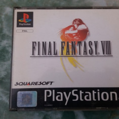 FINAL FANTASY VIII .PLAY STATION - Jocuri PSP Square Enix, Role playing