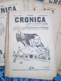 Revista CRONICA 1915 - 1916 (24 NUMERE din REVISTA PAMFLET a lui Tudor ARGHEZI)