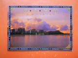 HOPCT  23994  SUA HAWAI OAHU/ WAIKIKI-DIAMOND HEAD   -NECIRCULATA, Printata