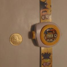 Ceas / Mini proiector cu ceas Minions - Ceas cu proiectie