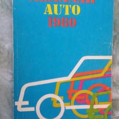 ALMANAH AUTO ANUL 1980 .