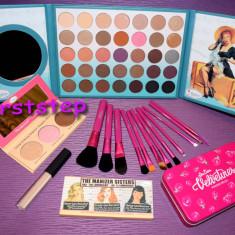 Set trusa machiaj theBalm Cosmetics Ternika 3 35 culori 12 pensule concealer - Trusa make up